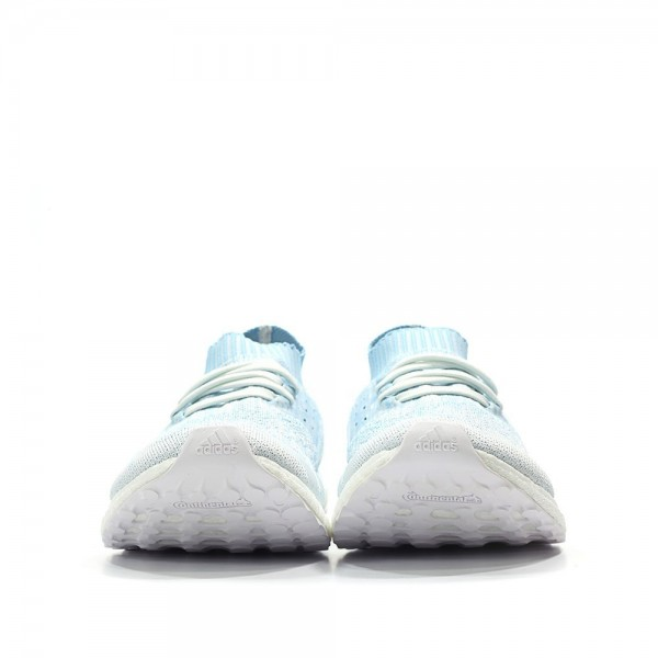 Adidas Men Ultra Boost Uncaged Parley Icey Blue White Shoes CP9686