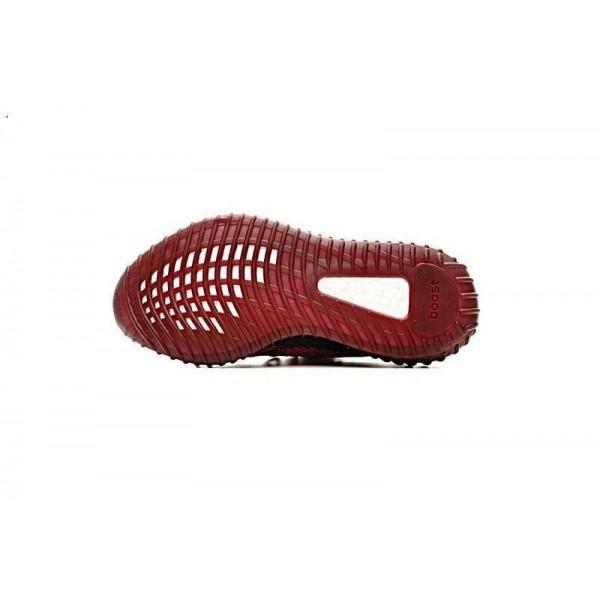 Adidas Unisex Yeezy Boost 350 V2 Teach Red/Deep Wine DA9568