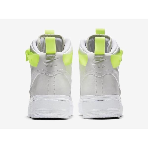 Magic Stick x Nike Air Force 1 High VIP 573967-101 White/Volt