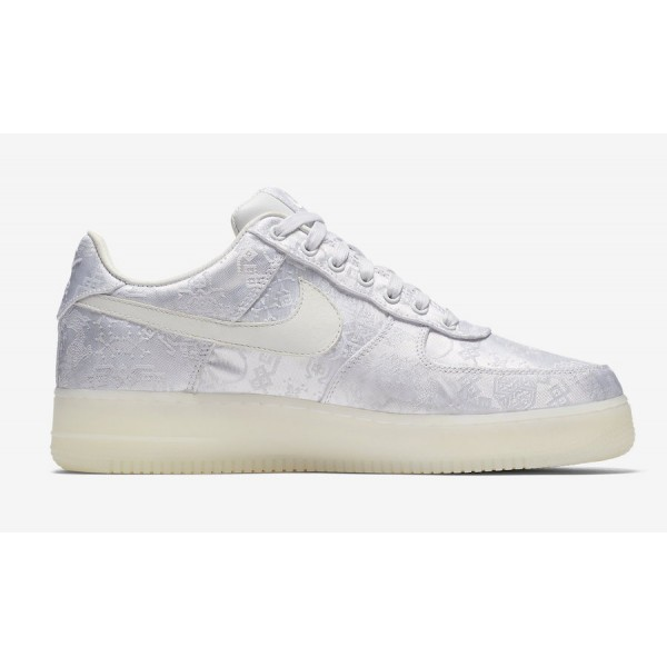 CLOT x Nike Air Force 1 Premium AO9286-100 White