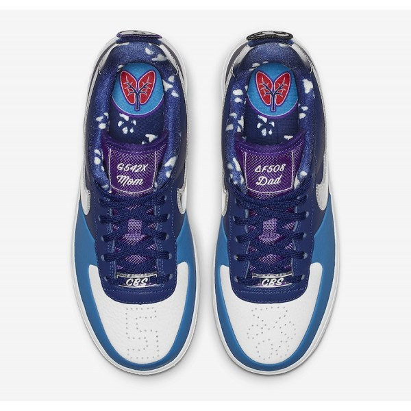 "BV7165-400 Nike Air Force 1 Low ""Doernbecher"" Deep Royal Blue Women Shoes"