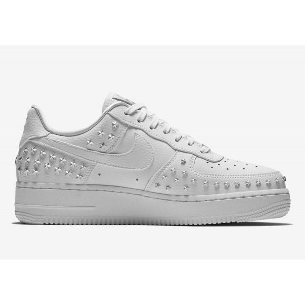 AR0639-100 Nike Air Force 1 Low Triple White Women Shoes