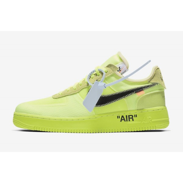 AO4606-700 Off-White x Nike Air Force 1 Low Volt B...