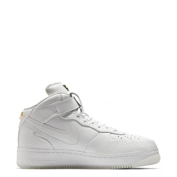 AO9298-100 Nike Air Force 1 Mid Victor Cruz White Gold Men Shoes