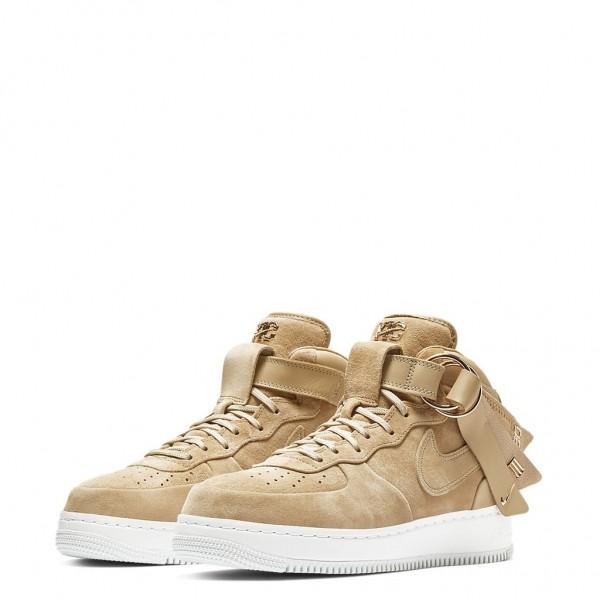AO9298-200 Nike Air Force 1 Mid Victor Cruz Vachetta Tan Men Shoes