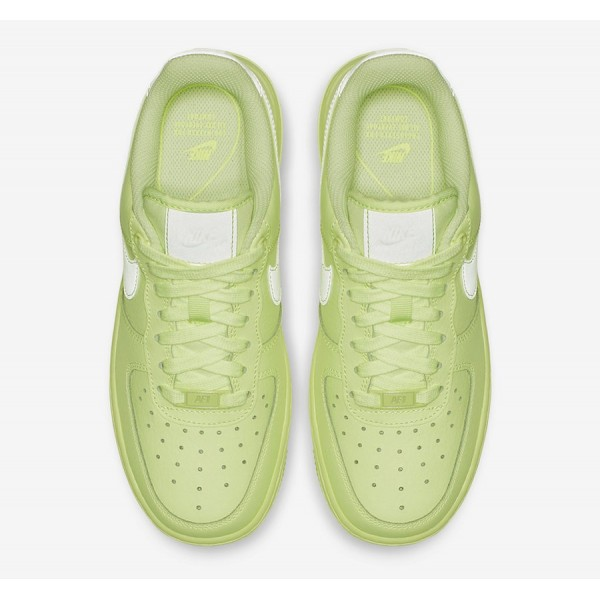 AO2132-700 Nike Air Force 1 '07 Essential Barely Volt Women Shoes
