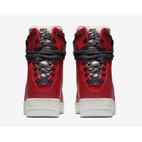 AO1525-600 Nike Air Force 1 Rebel XX Gym Red White Women Shoes