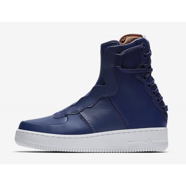 AO1525-401 Nike Air Force 1 Rebel XX Blue Volt White Women Shoes