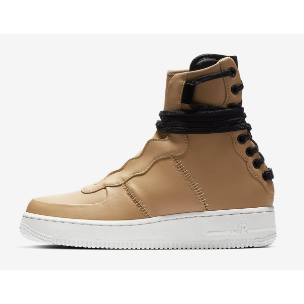 AO1525-200 Nike Air Force 1 Rebel XX Praline White Women Shoes