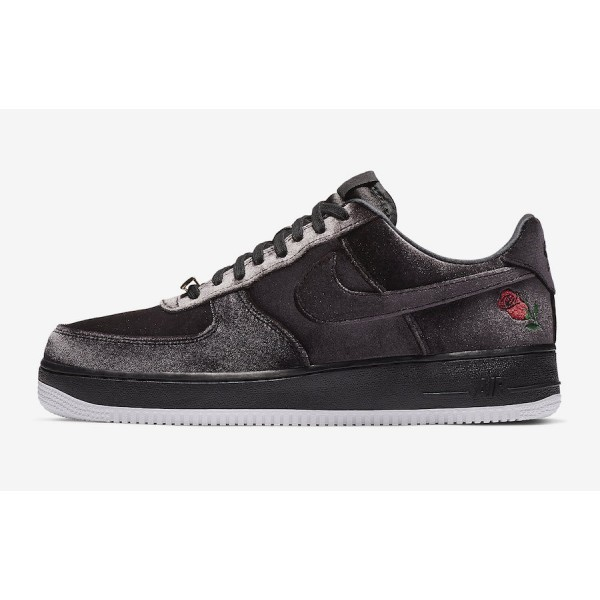 "AH8462-003 Nike Air Force 1 ""Satin"" Blac..."