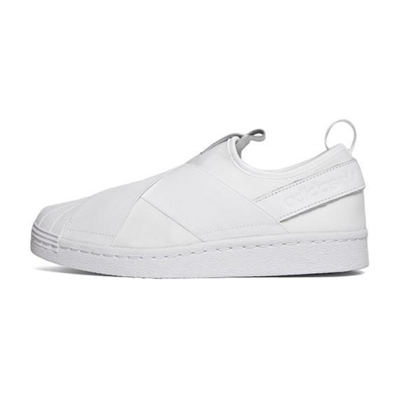 Adidas Women Superstar Slip-On White Shoes S81338