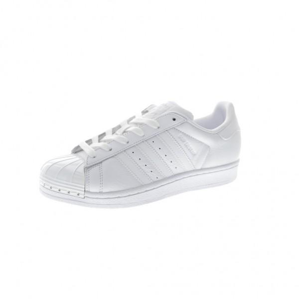 Adidas Women Superstar Metal Toe White Casual Shoe...