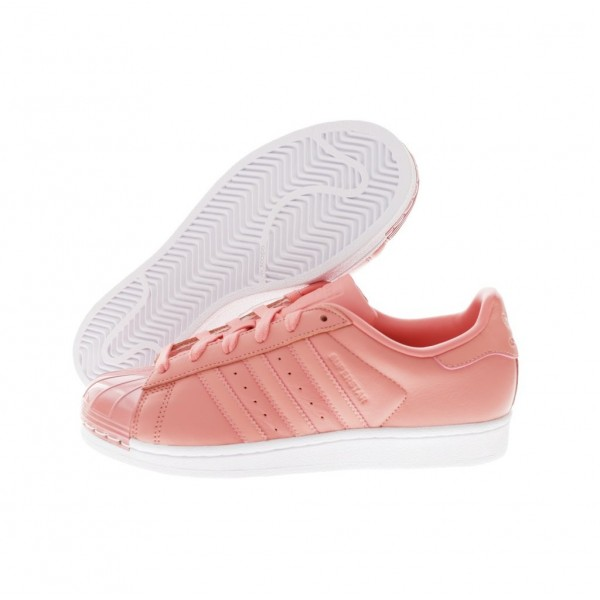 Adidas Women Superstar Pink White Running Shoes BY9750