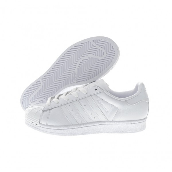 Adidas Women Superstar Metal Toe White Casual Shoes BY9751