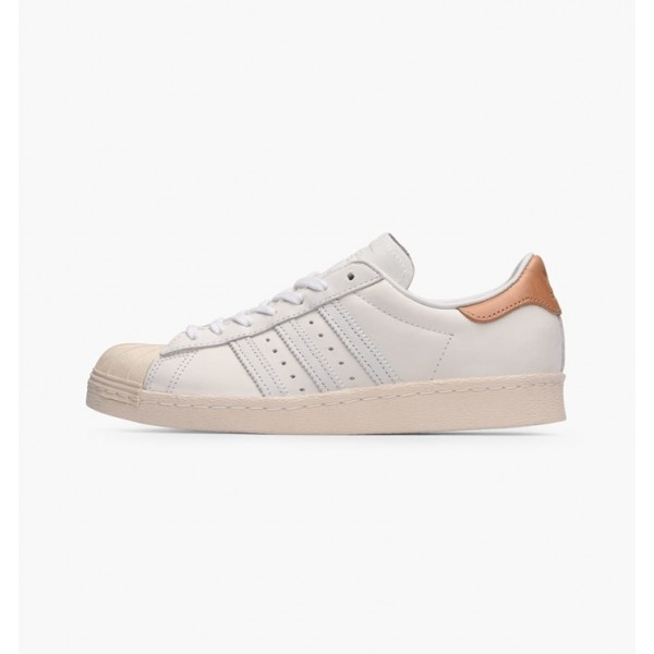 Adidas Women Superstar 80s White Shoes BB2058