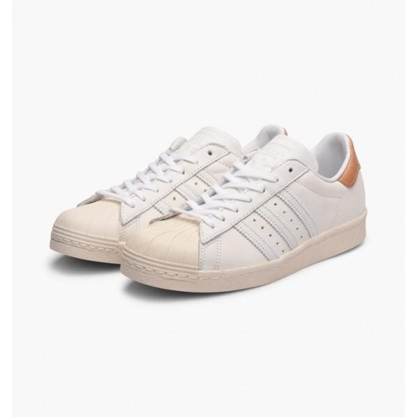 Adidas Women Superstar 80s White Shoes BB2058
