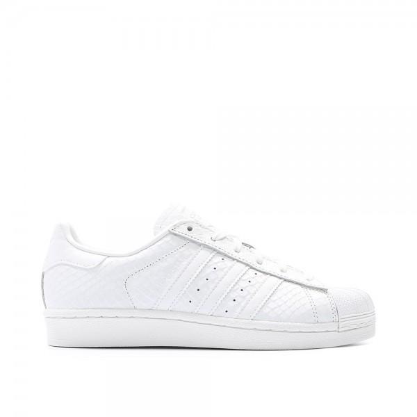 Adidas Women Originals Superstar White Leather Wom...