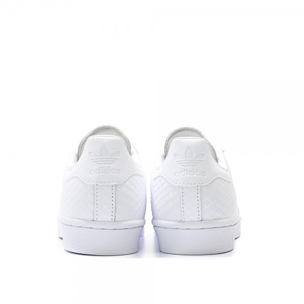 Adidas Women Originals Superstar White Leather Womens Casual Shoes S76148