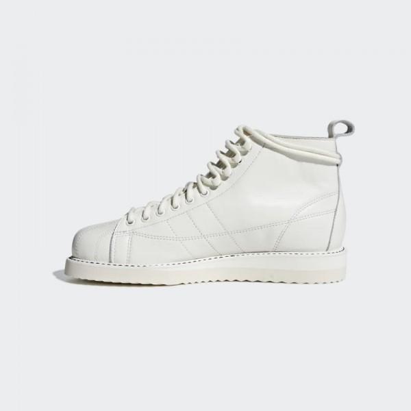 Adidas Women Originals Superstar Boot White Shoes ...