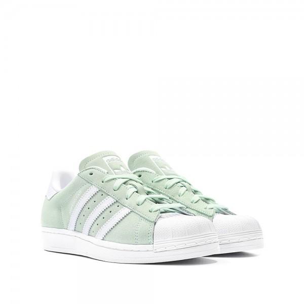 Adidas Women Originals Superstar Ice Mint Shoes S76154