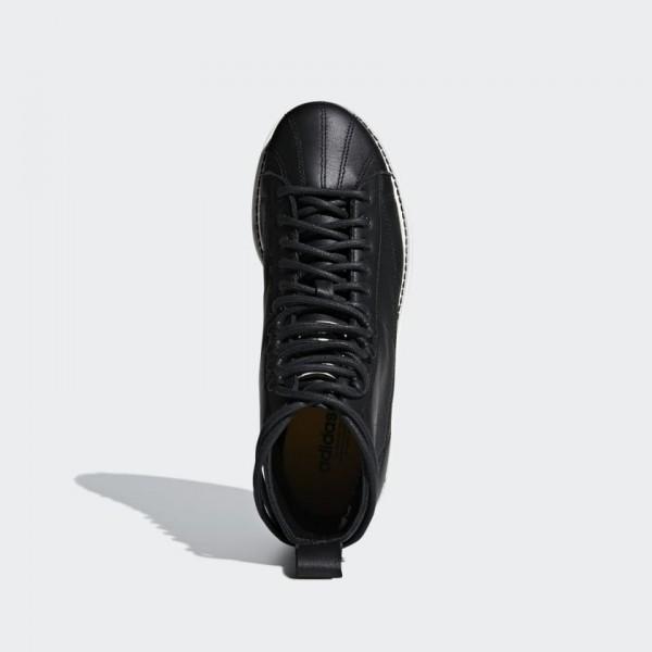 Adidas Women Originals Superstar Boot Black White AQ1213