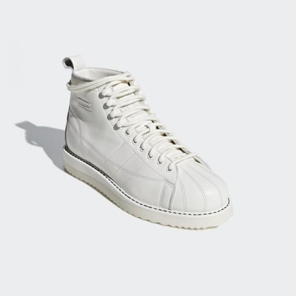 Adidas Women Originals Superstar Boot White Shoes B28162
