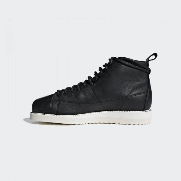 Adidas Women Originals Superstar Boot Black White ...