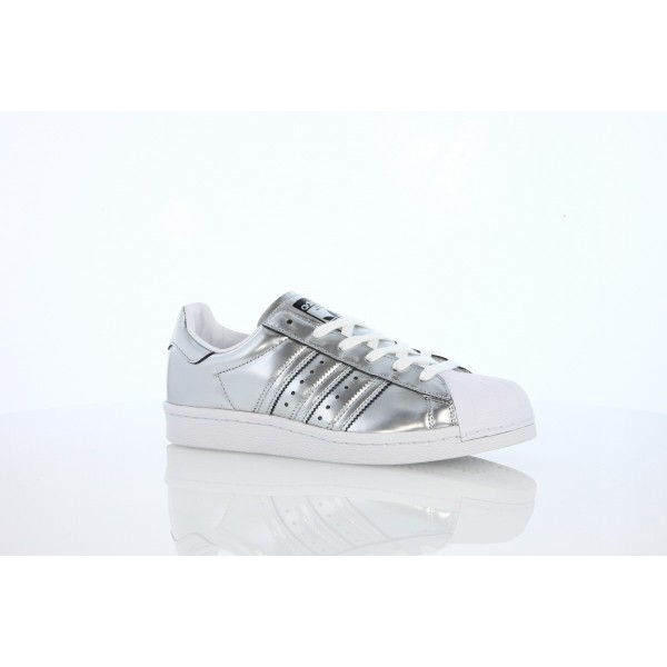 Adidas Women Originals Superstar Boost Silver White Shoes BB2271