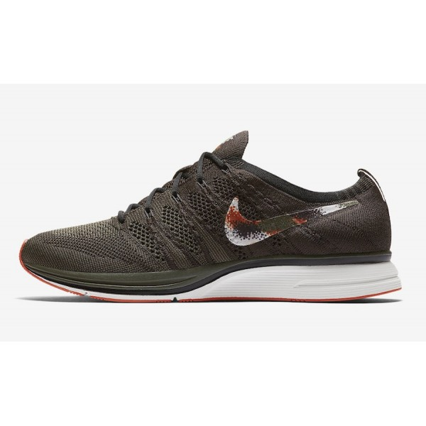 AH8396-202 Nike Flyknit Trainer Dark Green Black M...