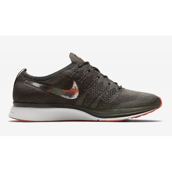 AH8396-202 Nike Flyknit Trainer Dark Green Black Men Shoes