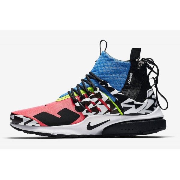 AH7832-600 Acronym x Nike Air Presto Mid Racer Pink Men Shoes