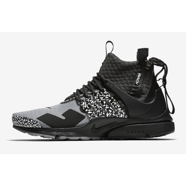 AH7832-001 Acronym x Nike Air Presto Mid Cool Grey...