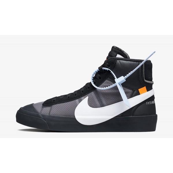 "AA3832-001 Off-White x Nike Blazer Mid ""Grim ..."