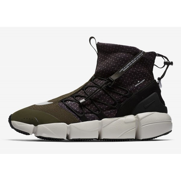 924455-001 Nike Air Footscape Mid Utility Black Ca...