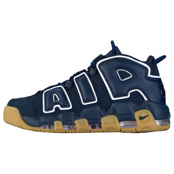 922845-001 Nike Air More Uptempo '96 Obsidian/White Shoes