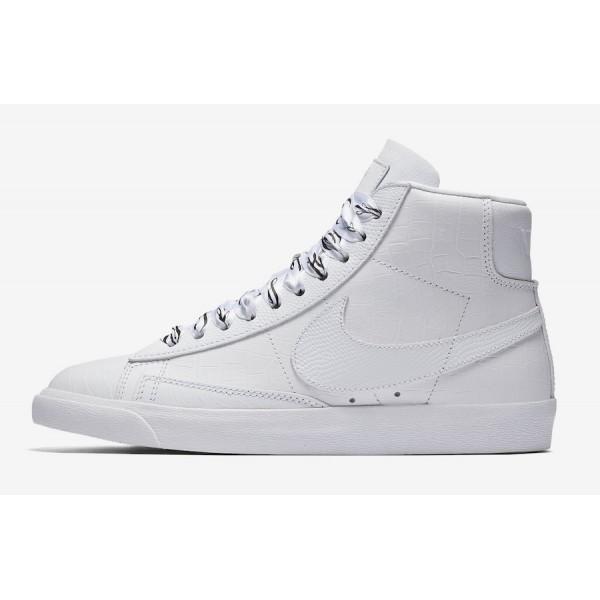 700869-100 Nike Blazer Mid SW White Black Women Sh...