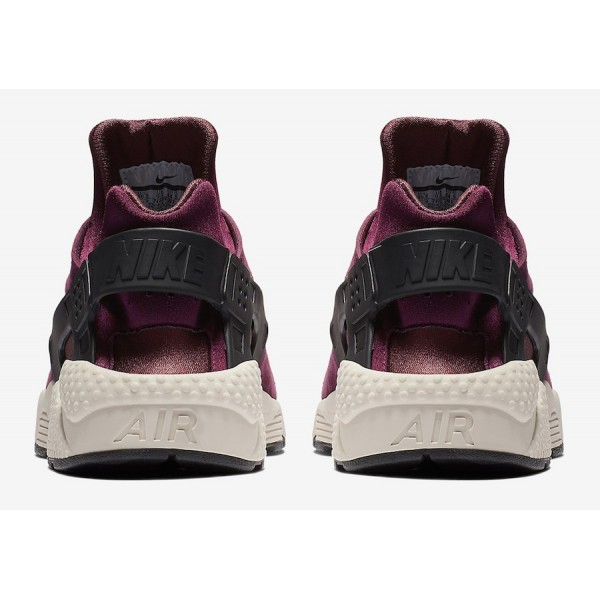 704830-603 Nike Air Huarache Premium Bordeaux Black Men Shoes