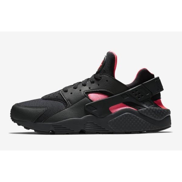 318429-055 Nike Air Huarache Coral Black Pink Men ...