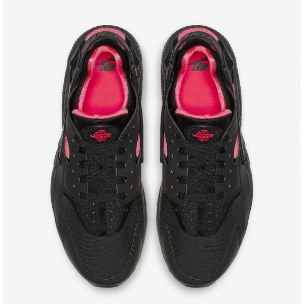 318429-055 Nike Air Huarache Coral Black Pink Men Shoes