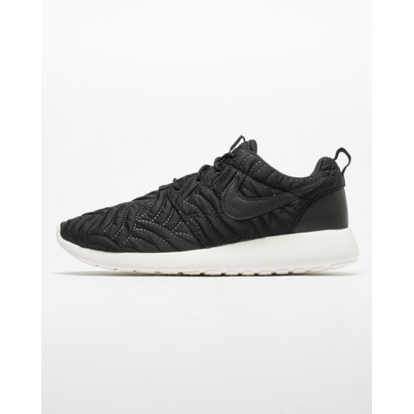 Nike Women Roshe One Premium Black Ivory Shoes 833...