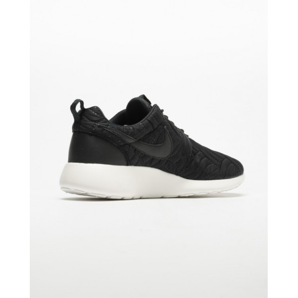 Nike Women Roshe One Premium Black Ivory Shoes 833928-004