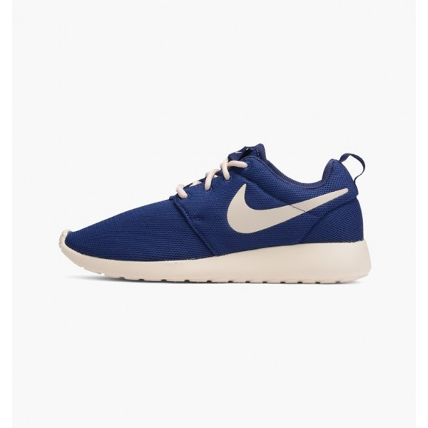 Nike Women Roshe One Binary Blue Oatmeal Shoes 511...