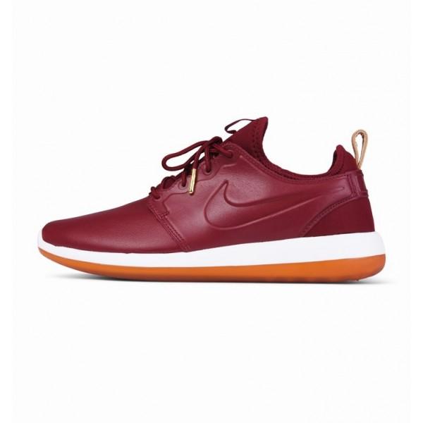 Nike Men Roshe Two Premium Team Red White Running ...