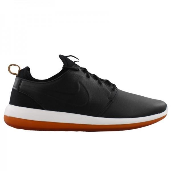 Nike Men Roshe Two Leather Premium Black Shoes 881...