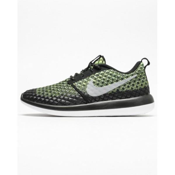 Nike Men Roshe Two Flyknit 365 Black Shoes 859535-700