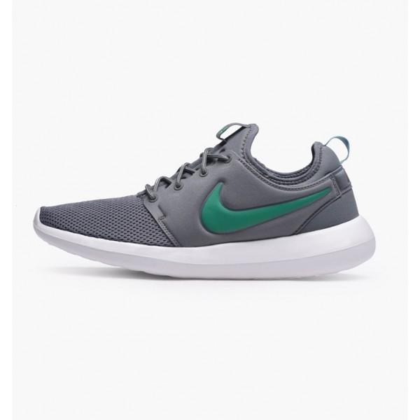Nike Men Roshe Two Cool Grey Stadium Green Shoes 8...