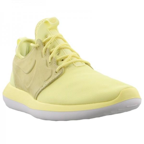 Nike Men Roshe Two BR Lemon Chiffon Citron Shoes 898037-700