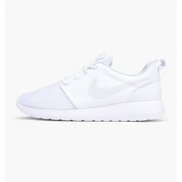 Nike Men Roshe One SE White Platinum Shoes 844687-...