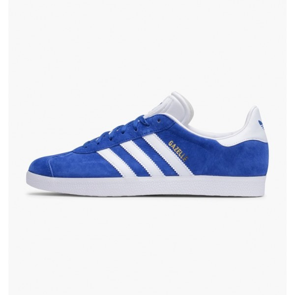 Adidas Men Gazelle Collegiate Royal White Gold Met...