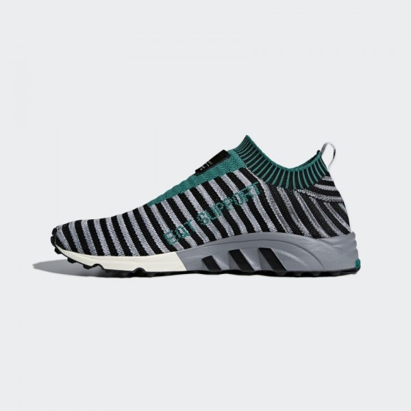 Adidas Men EQT Support SK Primeknit Black Green B3...
